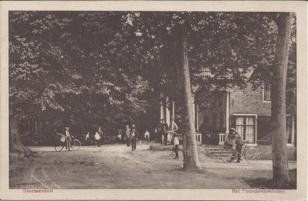 Mollaan, Pannekoekenhuisje, 1915