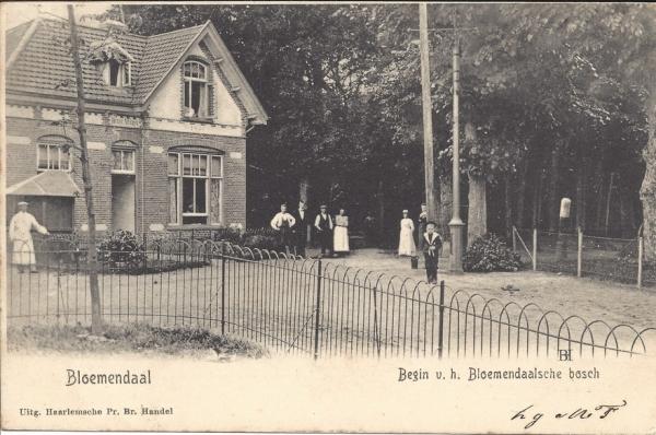 Zomerzorgerlaan, Hoek Koepellaan, Huize Maria 1904