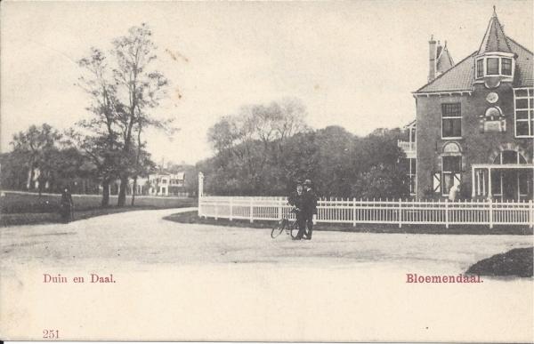 Lage Duin en Daalscheweg, Villa Elshof, 1904
