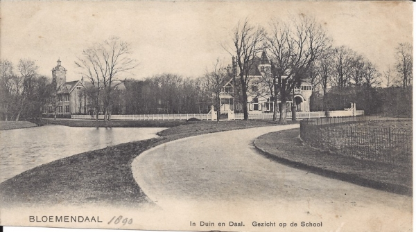 Lage Duin en Daalscheweg, Villa Elshof, 1903 (2)