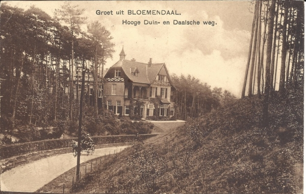 Parkweg, Villa Dennenheuvel, 1915