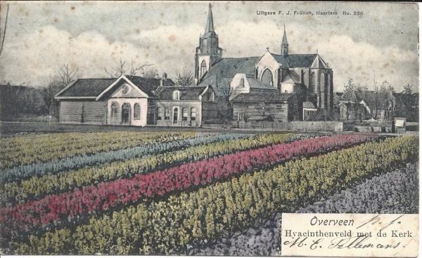 Korte Zijlweg, O.L.V. Kerk, 1903 (1)