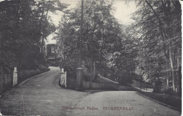 Midden Duin en Daalscheweg, Huize Hoogh Duijne