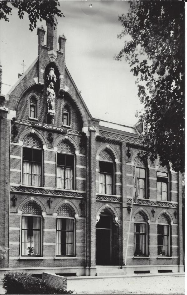 Korte Zijlweg, Jeugdherberg, 1965