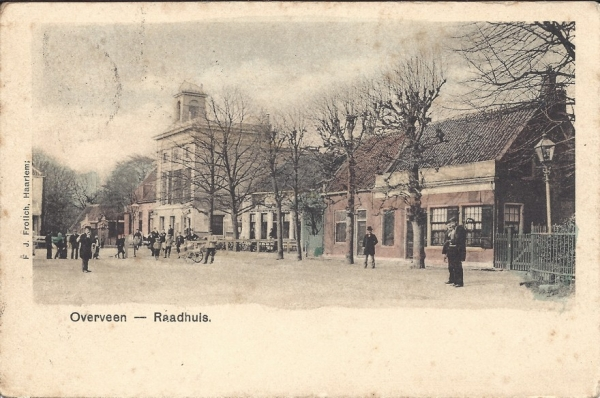Bloemendaalscheweg, hoek Zijlweg, 1901 (2)