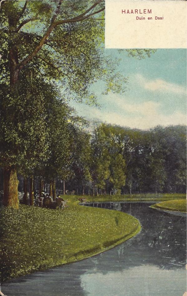 Lage Duin en Daalscheweg, Halve Maantje, 1907