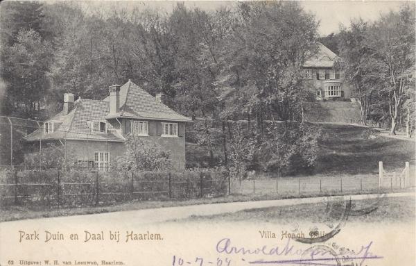 Midden Duin en Daalscheweg, Villa Hoogh Duijne, 1904